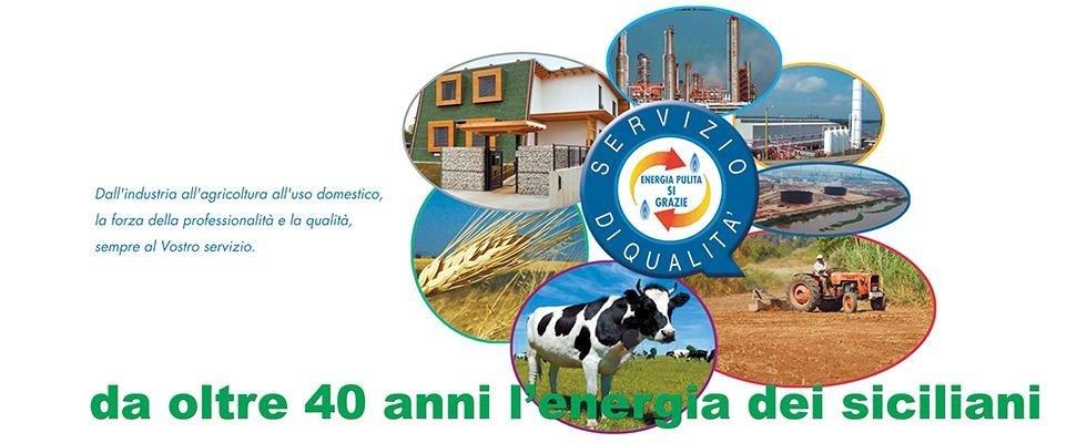 da oltre 40 anni l'energia dei siciliani