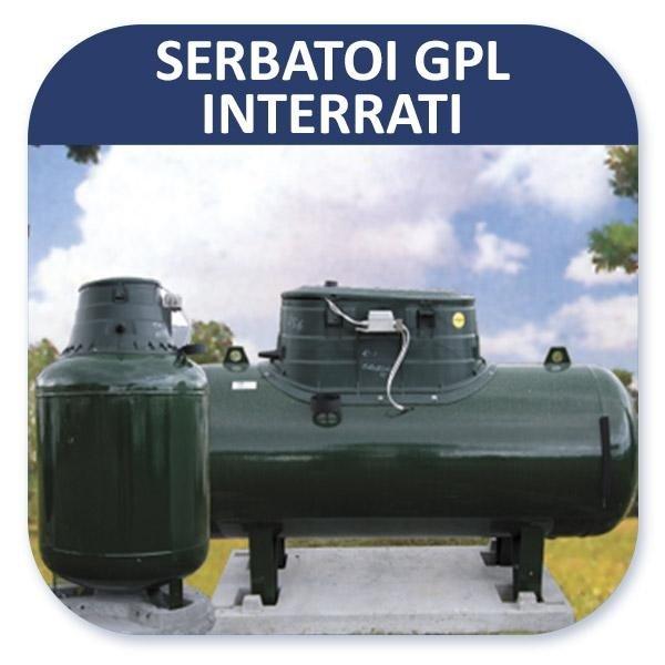 Serbatoi GPL interrati