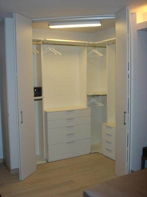 Cabina armadio per camera da letto