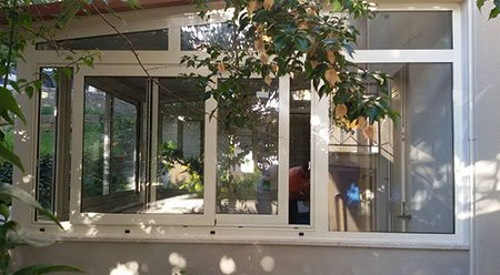 finestre bianche