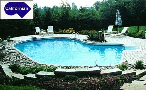 Californian inground pool