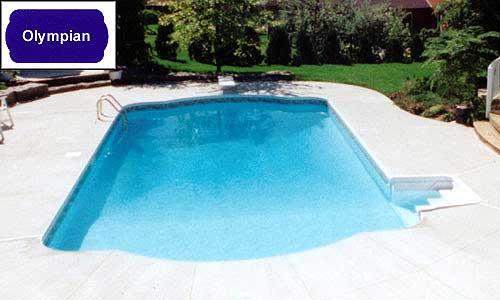 olympian inground pool