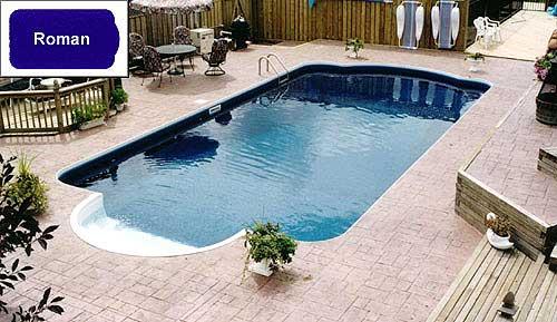 roman inground pool