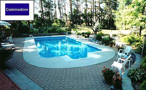 commodore inground pool