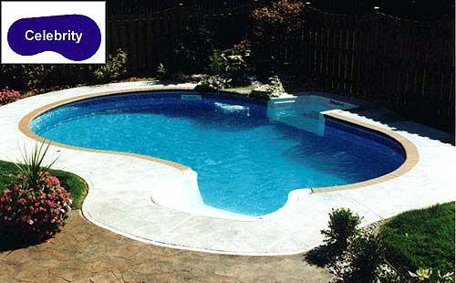 celebrity inground pool