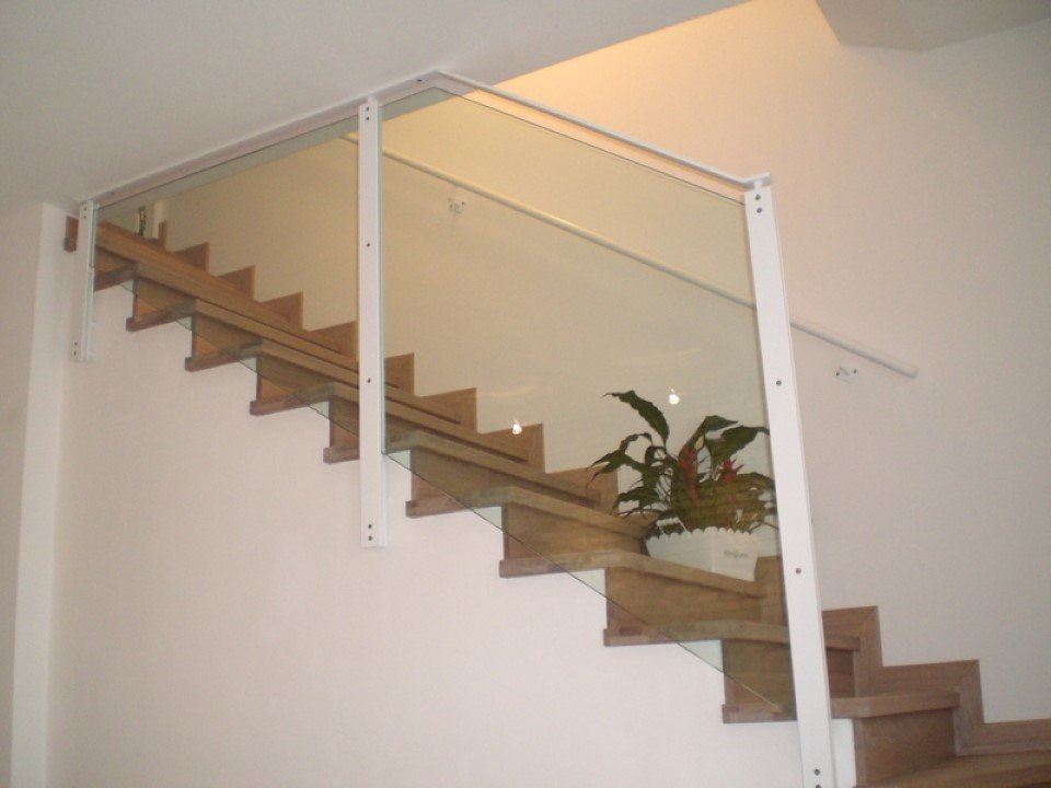 scale da interni in muratura rivestite in legno