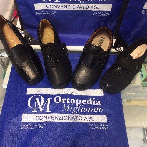 L'officina ortopedica è inoltre rinomata per il servizio di plantari su misura