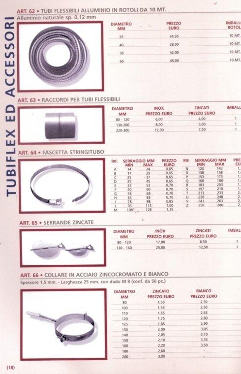 tubiflex ed acciaio