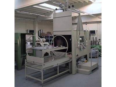 macchine sabbiatrici per metalli