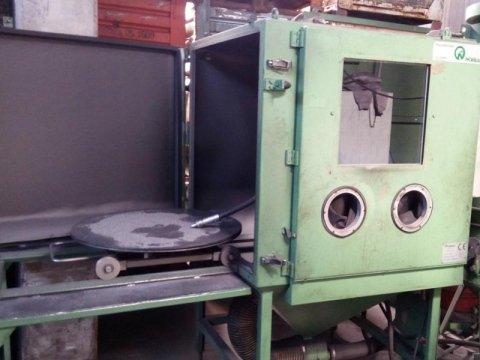 macchinario Granigliatrice manuale