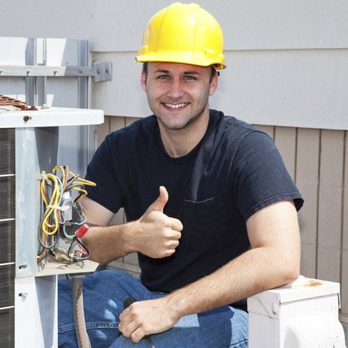 Electrician thumbs up