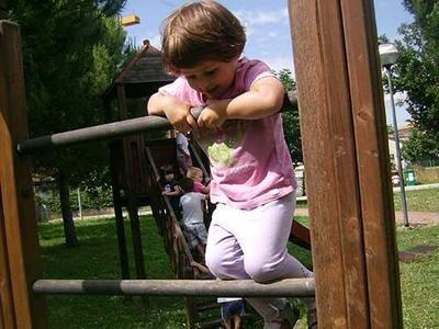 Una piccola arrampicatrice