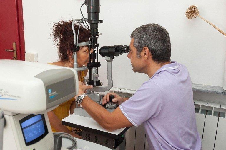 Esame Oculistico con Laser La Spezia