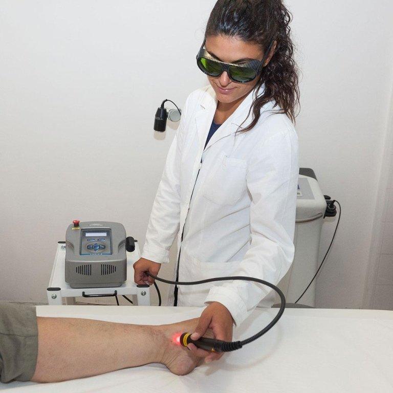 Fisioterapia con Laser La Spezia