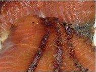 Party food Treacle cured salmon