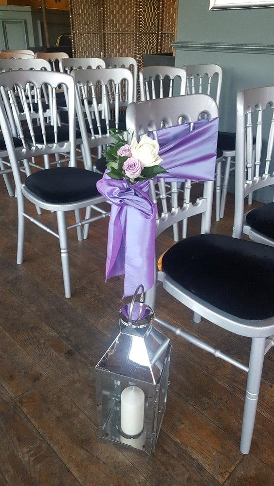 A selection of chair covers
