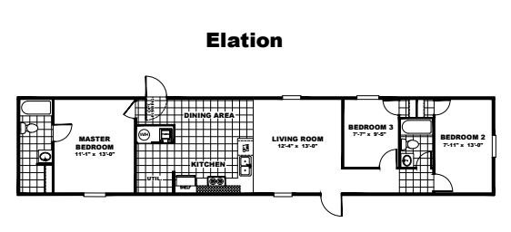 Tru Homes Elation Floor Plan