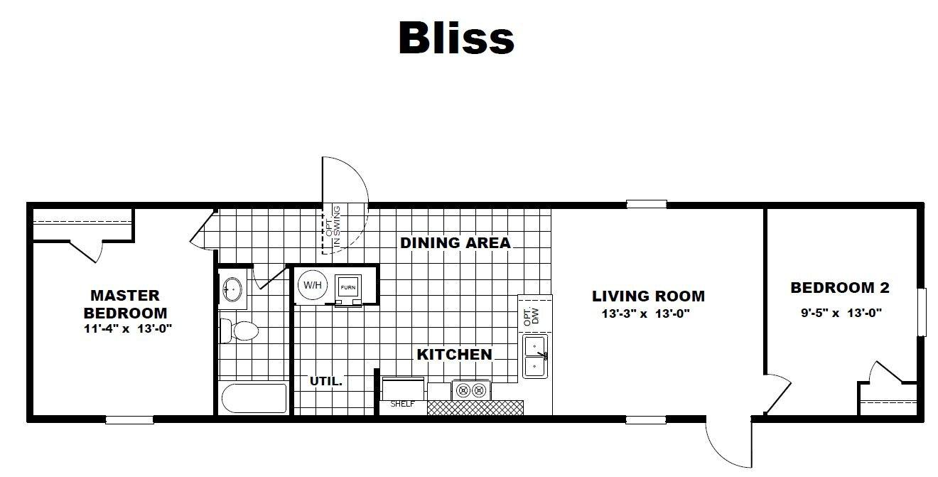 Tru Homes Bliss Floor Plan