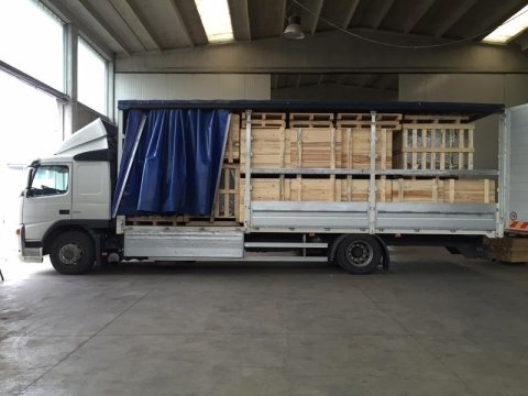 trasporto pallet