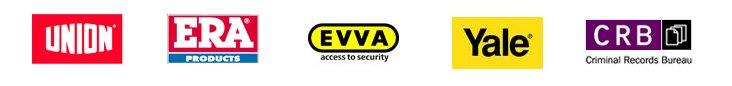 Union, ERA, EVVA, Yale and CRB logo