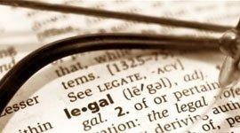 legal, vocabolario