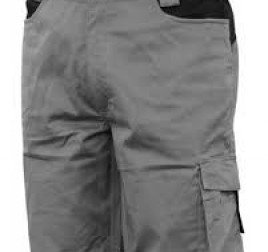 pantaloni da lavoro grigi