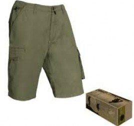 pantaloncini da lavoro verdi
