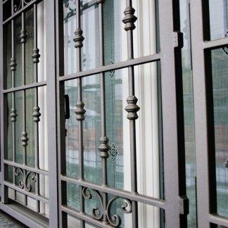 cancello finestra apribile 4 ante