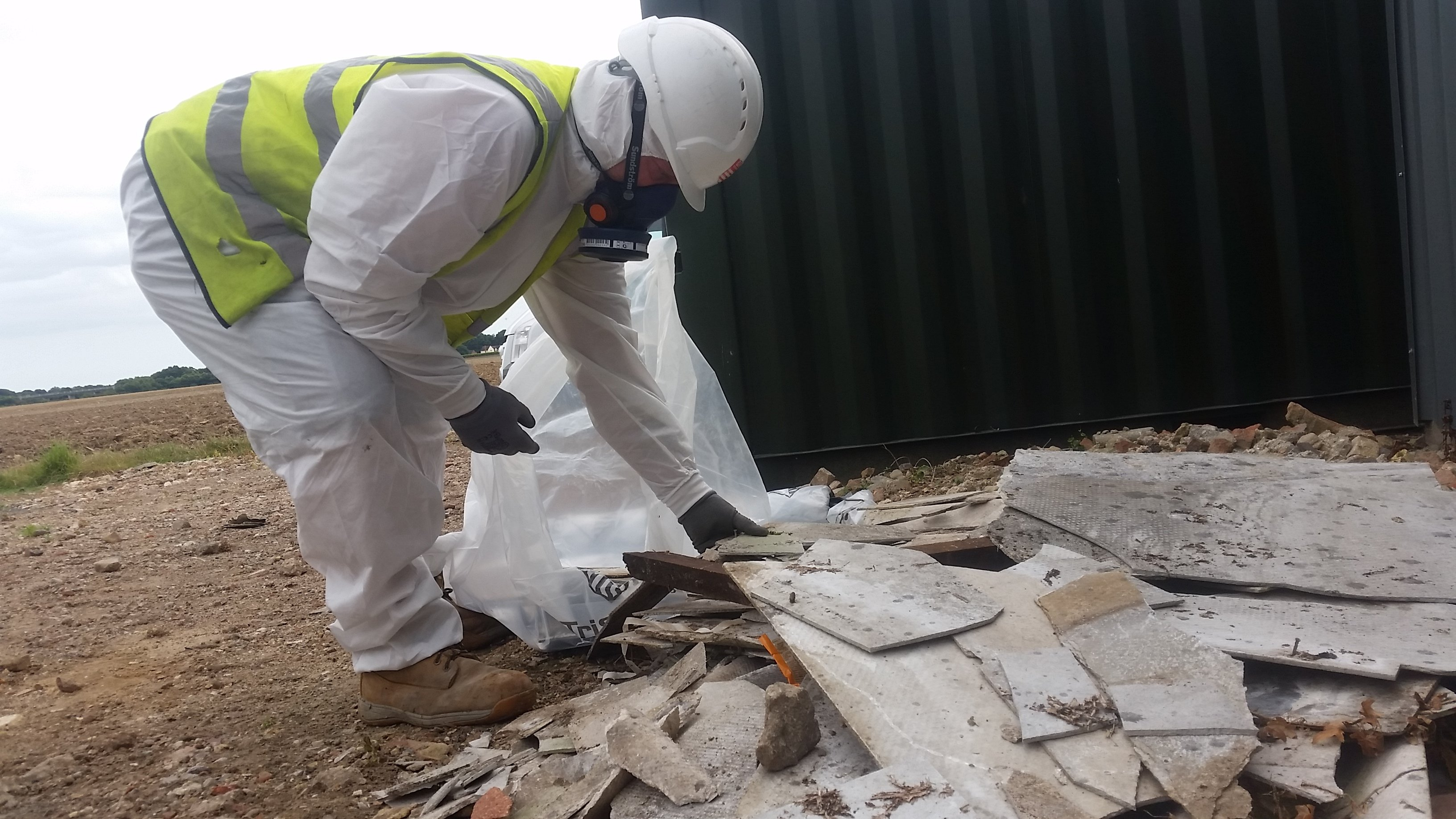 Removing asbestos from buildings