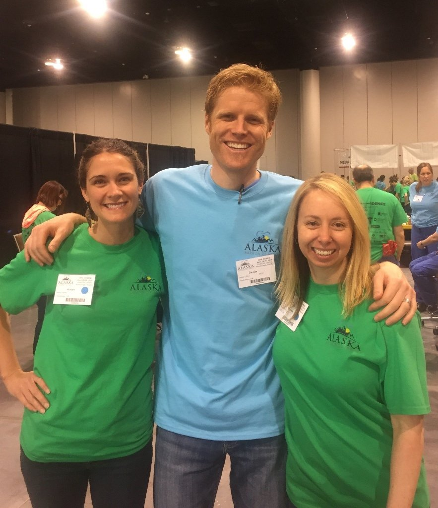 The Libby Group at Alaska's Mission of Mercy events.