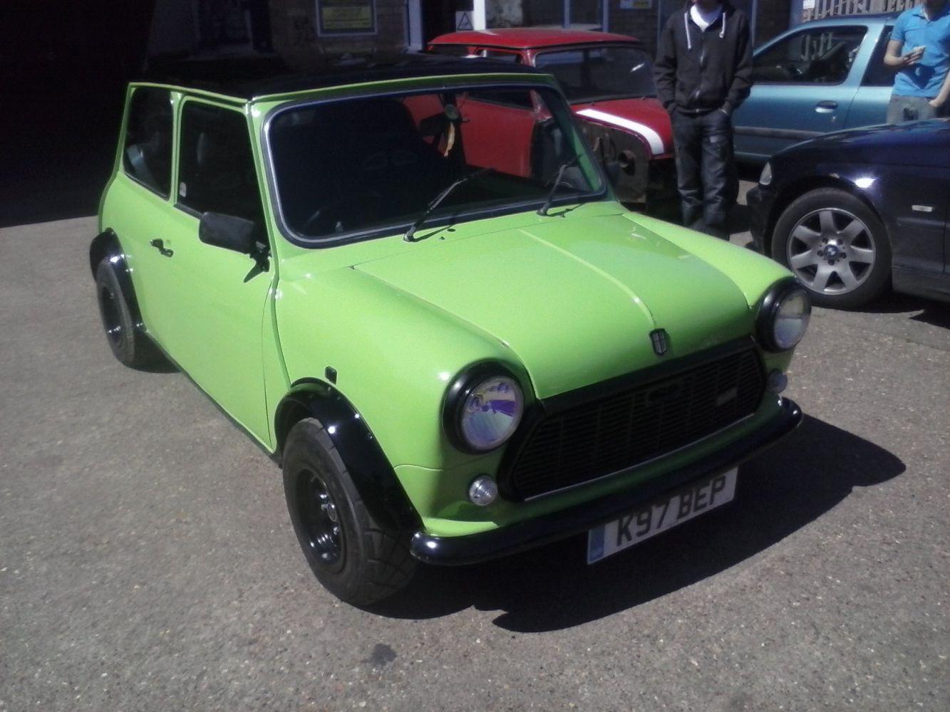 Green mini restorations at our workshop in Peterborough, PE