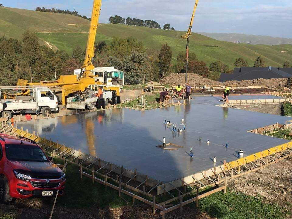 Commercial slabs at affordable concrete prices in Napier