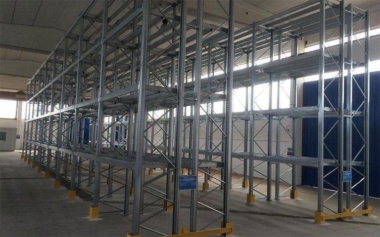 portapallet statico impianto unibuild