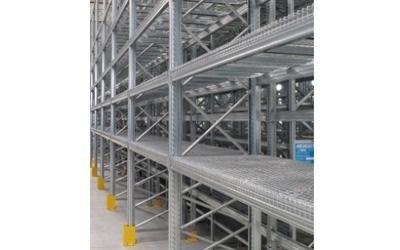 struttura porta pallets acciaio su misura verona