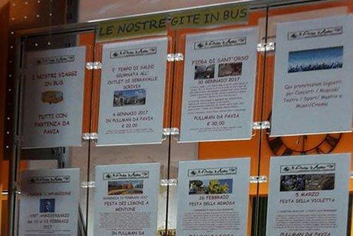 Offerte gite in bus agenzia viaggi avia mata a Pavia