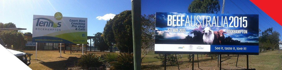 centre state signs billboard