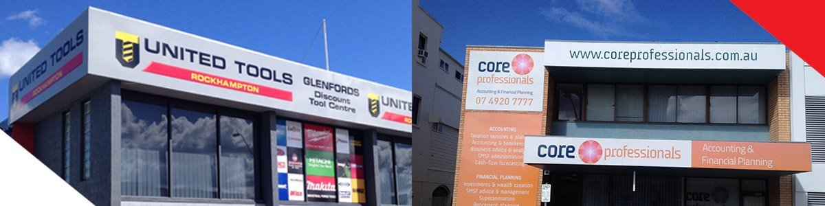 centre state signs shop frontage