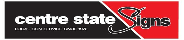 centre state signs logo