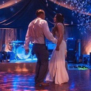 marquee with dance floor