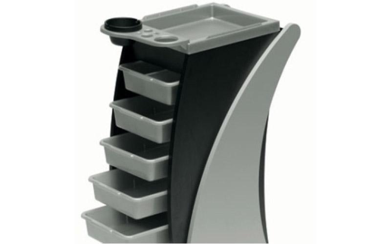 Cassettiera utensili per parrucchiere