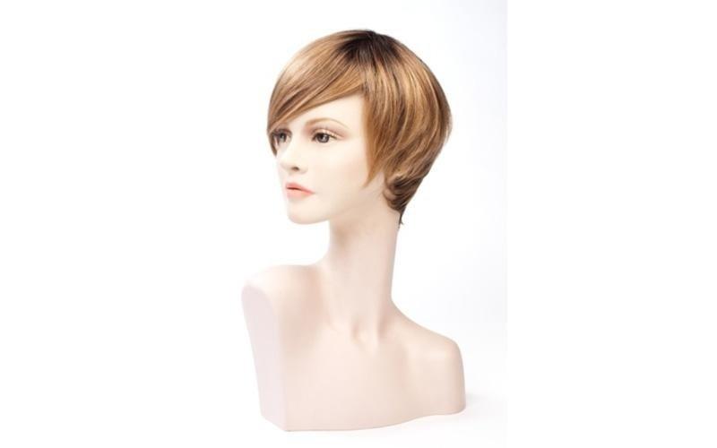 Parrucche capelli corti lisci