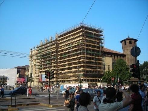 Ponteggio Palazzo Madama