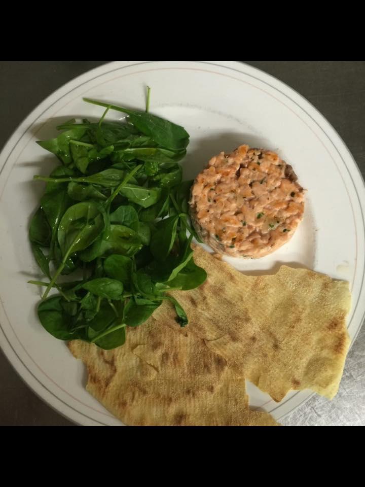 dell'insalata valeriana e della tartare