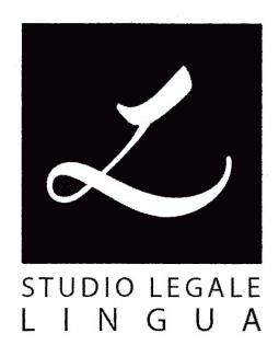 STUDIO LEGALE LINGUA AVV. ELISA - LOGO