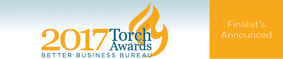 BBB 2017 Torch Awards Finalists