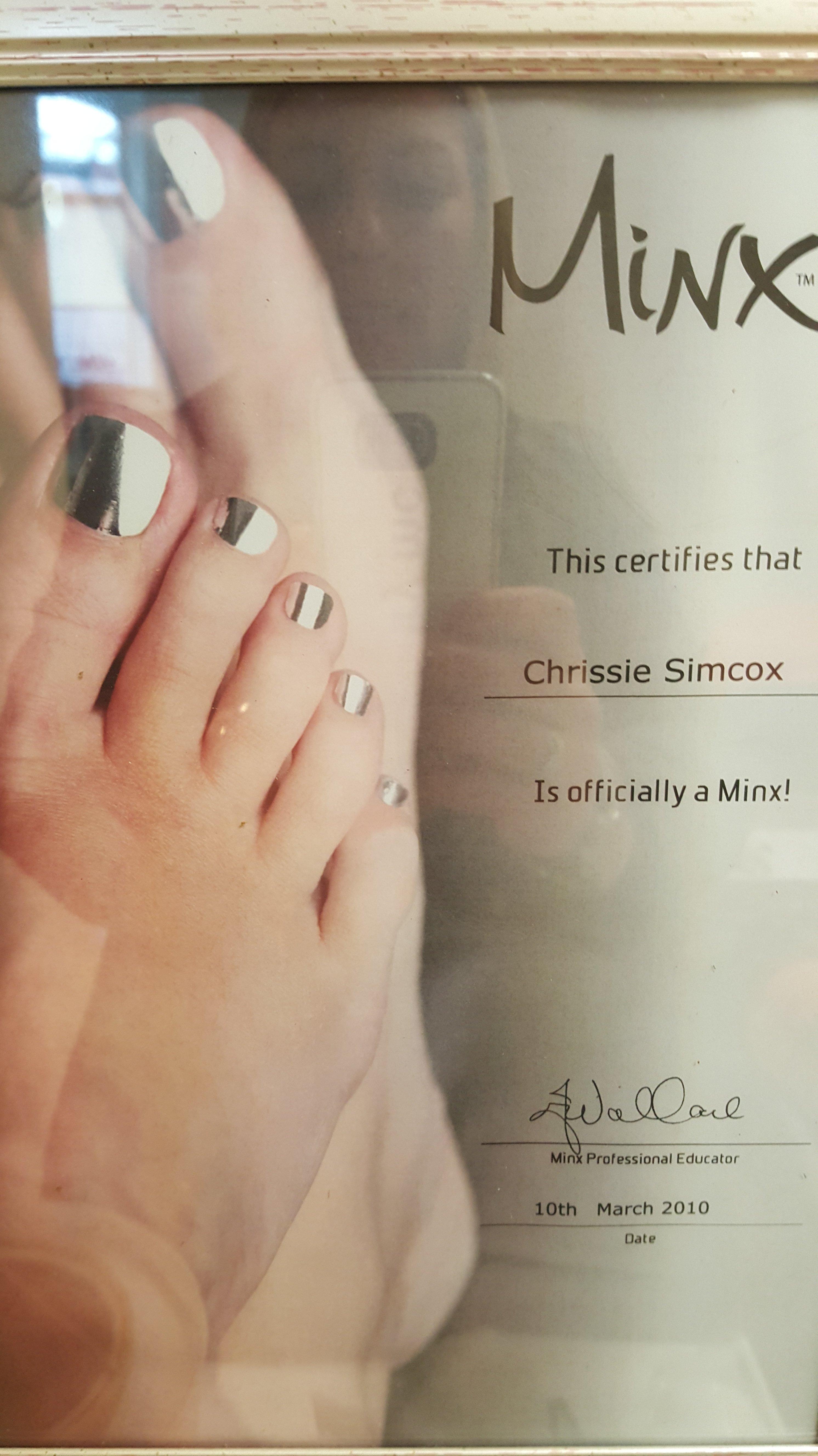 Beauty Certificate