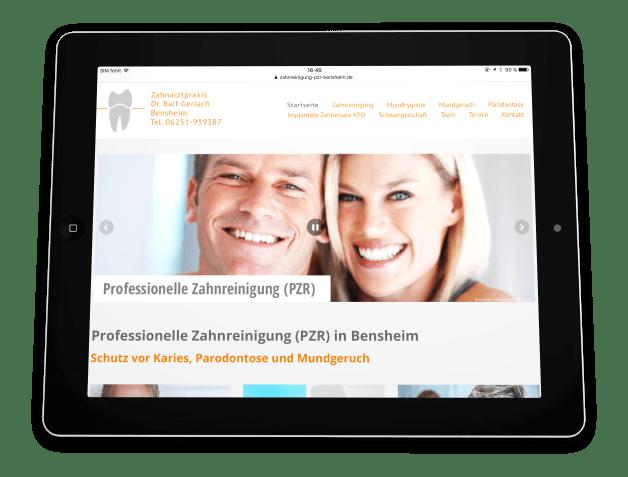 Zahnreinigung (PZR) Bensheim