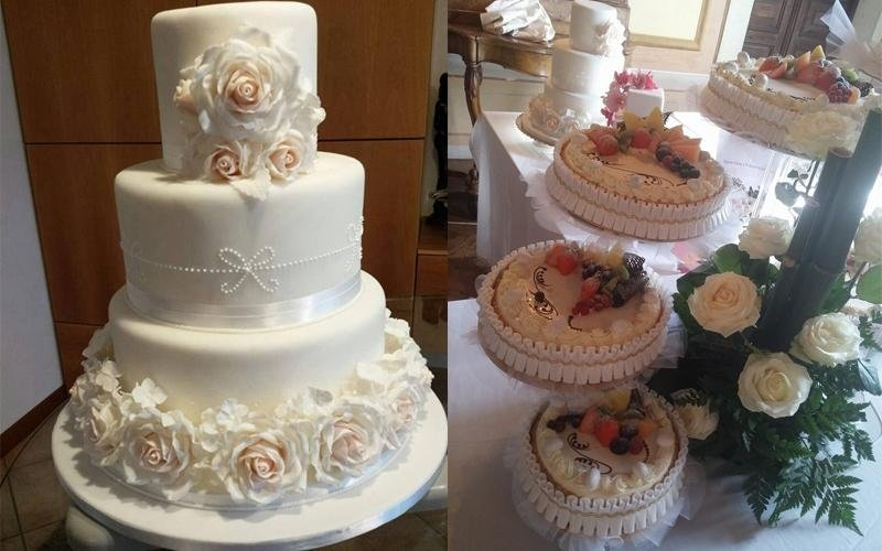 Torte multistrato e per matrimoni