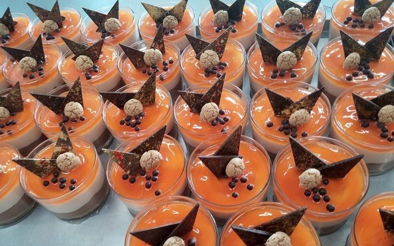 Monoporzioni di dolci al cucchiaio