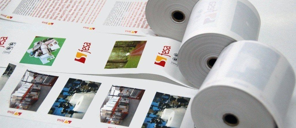 Paper rolls producer for shops chain, POS and lottery ticket